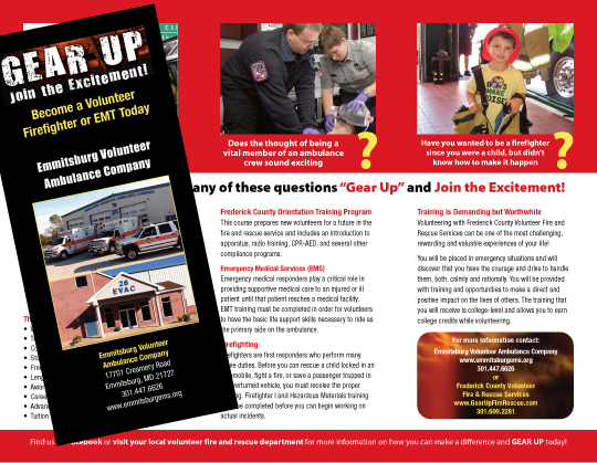 Frederick County Gear Up brochure