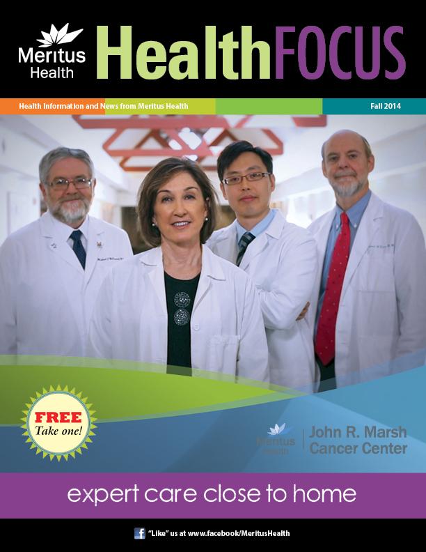Meritus Health -Health Focus Magazine