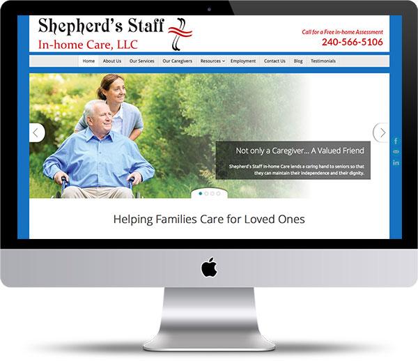 Shepherd's Staff website