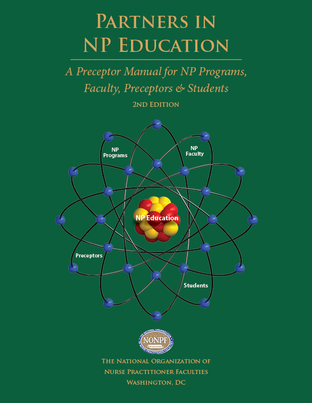 National Organization of Nurse Practitioner Faculties Preceptor Manual