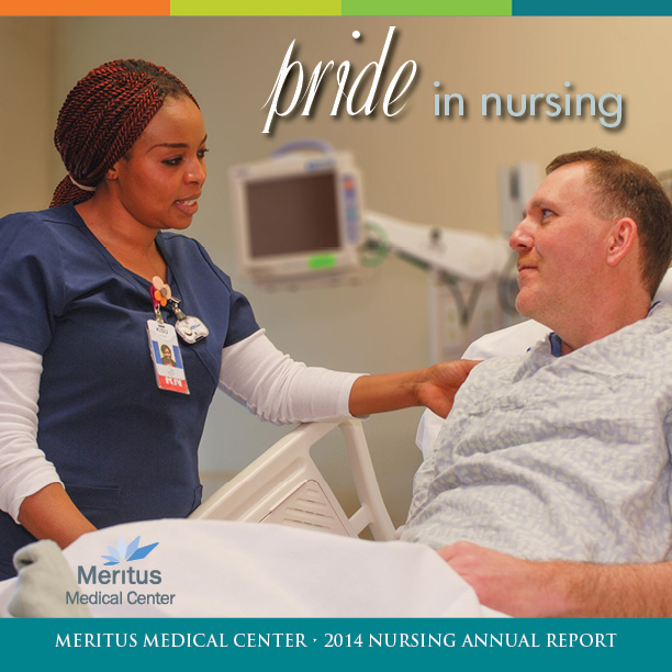 Meritus Health Nursing Annual Report cover