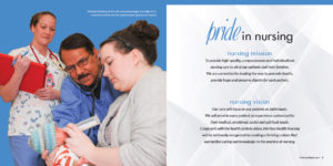 Meritus Health Nursing Annual Report spread
