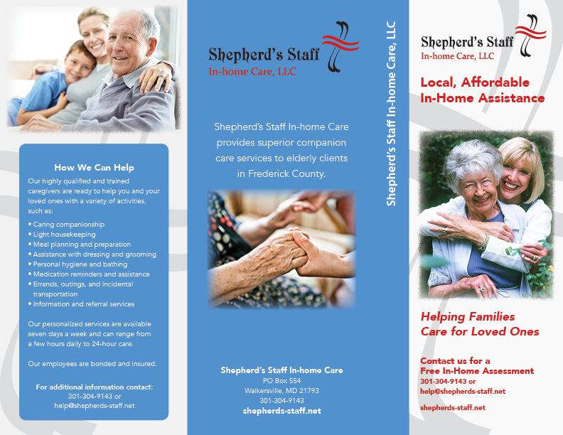 Shepherd's Staff informational brochure